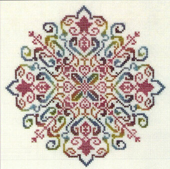 Regal Mandela - Cross Stitch Pattern