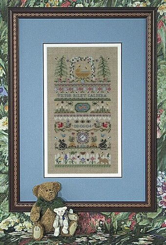 Just Nan Baby Garden Cross Stitch Pattern 123stitch Com