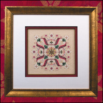 Deck the Halls (with embellishments) - Cross Stitch Pattern