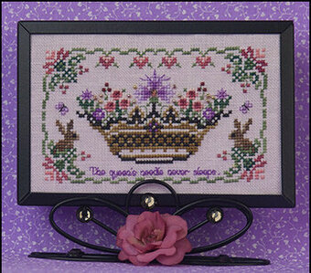 Flowering Crown - Cross Stitch Pattern
