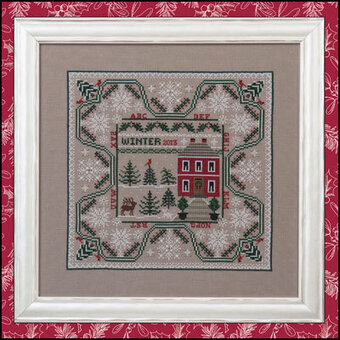 Winter in the Forest - Cross Stitch Pattern