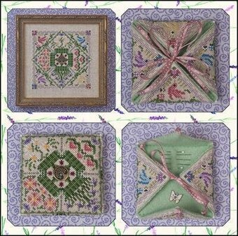 Summer in the Meadow - Cross Stitch Pattern