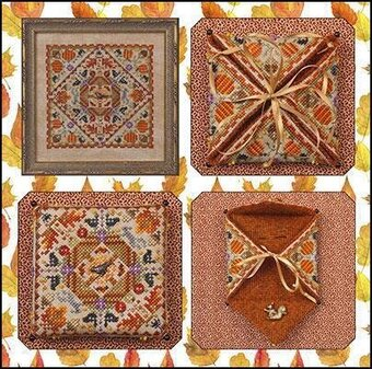 Autumn in the Meadow - Cross Stitch Pattern