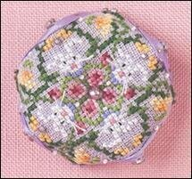 Tiny Bunny Biscornu - Cross Stitch Pattern