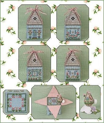 Cloverly's Bunny Bungalow & Embellishments