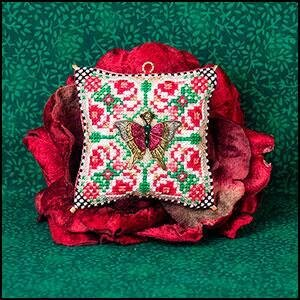 Christmas Butterfly Ornament - Cross Stitch Pattern