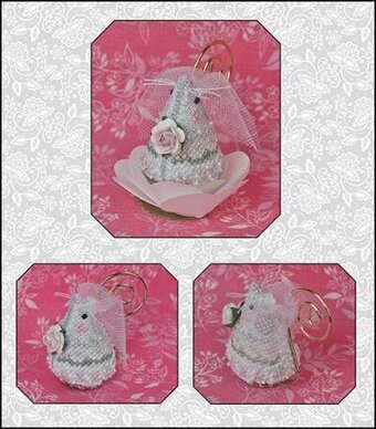 Juliet the Bride Mouse Limited Edition Cross Stitch Pattern