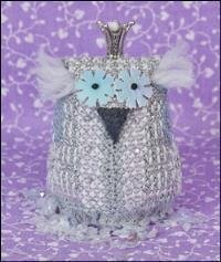 Little Princess Snow Ornament - Cross Stitch Pattern