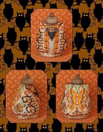 Mr Nutley Owl Limited Edition Cross Stitch Pattern