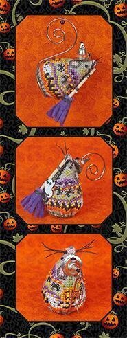 Witchy's Sister Mouse - Cross Stitch Pattern