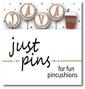 J is for Java (Set of 5) - Just Pins