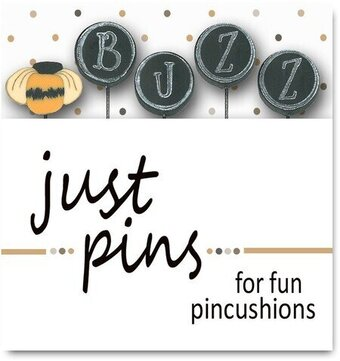 Block Party - Buzz (Set of 5) - Just Pins