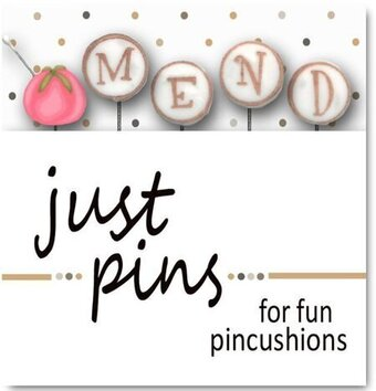 Block Party - M is for Mend (Set of 5) - Just Pins