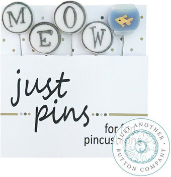 Meow - Block Party  (Set of 5) - Just Pins
