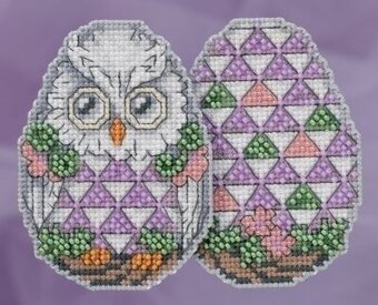 Owl Egg - Jim Shore - Cross Stitch Kit
