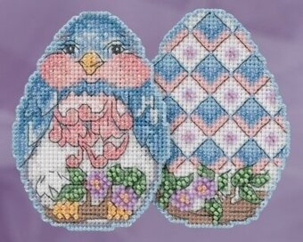 Bluebird Egg - Jim Shore - Cross Stitch Kit
