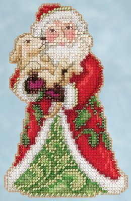 Best Friend Santa - Jim Shore Beaded Cross Stitch Kit