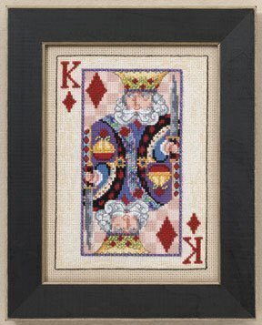 King - Cross Stitch Kit