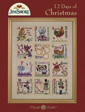 12 Days of Christmas Jim Shore Cross Stitch Pattern