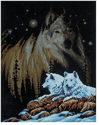 Northern Lights - Cross Stitch Kit