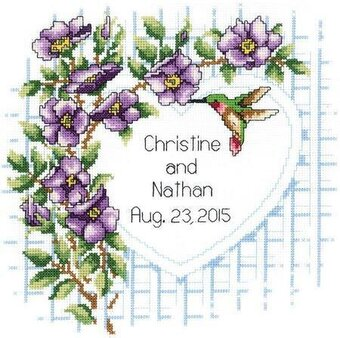 Garden Trellis - Cross Stitch Kit