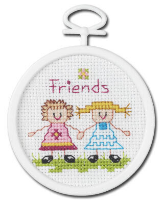 Friends Mini - Beginner Cross Stitch Kit
