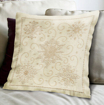 Candlewicking Pillow | Embroidery For Sale