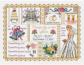 Wedding Collage - Cross Stitch Kit