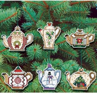 Christmas Cross Ornaments
