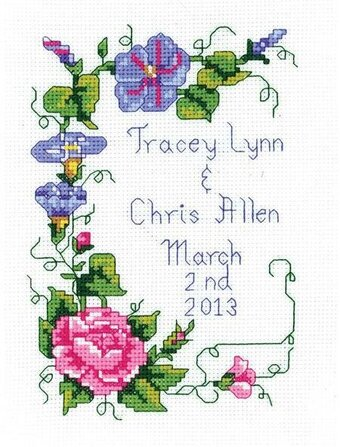 Wedding Floral - Cross Stitch Kit