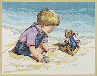Seashore Fun - Cross Stitch Kit