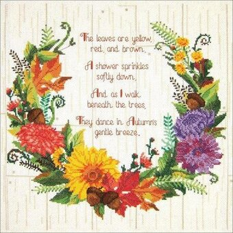 Autumn Sentiments - Cross Stitch Kit
