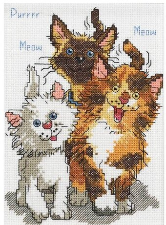 Cattails of Duckport - Cross Stitch Kit