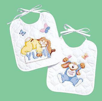 Baby Bibs Cross Stitch Patterns Amp Kits 123stitch Com