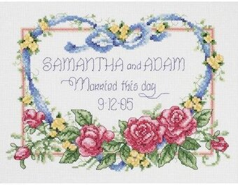 Married This Day - Cross Stitch Kit
