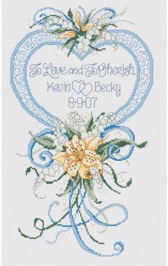 Cherished Wedding - Cross Stitch Kit