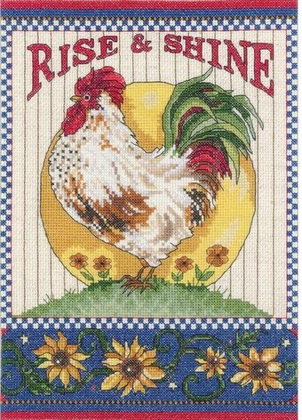 Rise and Shine - Cross Stitch Kit