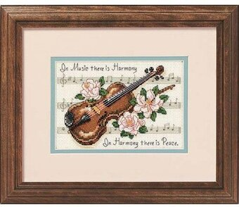 Music is Harmony - Cross Stitch Kit