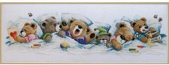 Sleepy Bears - Cross Stitch Kit