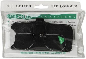 Magni-Clips Magnifiers +1.50 Magnification