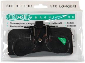 Magni-Clips Magnifiers +2.00 Magnification