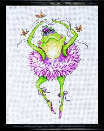 Frog Dancer - Cross Stitch Kit