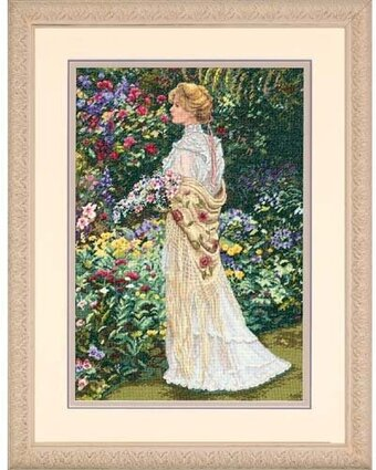 In Her Garden - Cross Stitch Kit