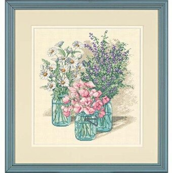 Wildflower Trio - Cross Stitch Kit