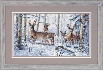 Woodland Winter - Cross Stitch Kit
