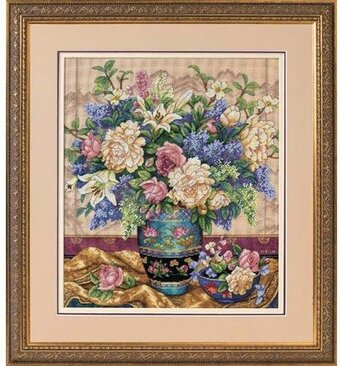 Oriental Splendor - Cross Stitch Kit