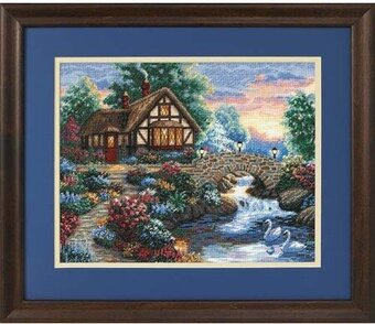Twilight Bridge - Cross Stitch Kit