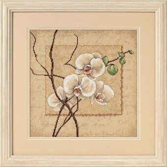 Oriental Orchids - Cross Stitch Kit