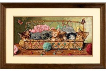 Kitty Litter - Cross Stitch Kit