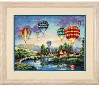 Balloon Glow - Cross Stitch Kit